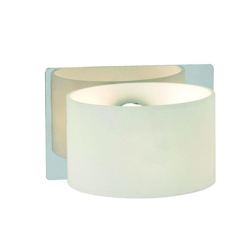 Markslöjd Seinävalaisin Sigtuna 120x80 mm kromi/opaali IP44 (kylpyhuonevalaisin)