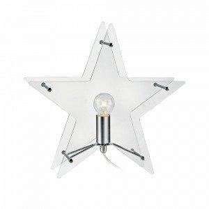 Markslöjd Stjärna Klang Valopöytäkoriste Lasia