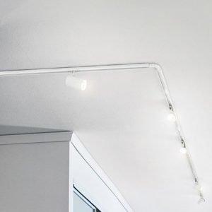 Markslöjd Track LED 6-setti Valkoinen