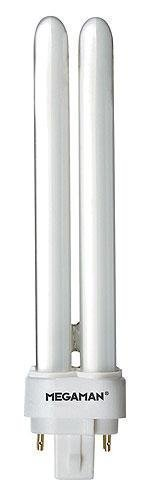 Megaman Pistokantalamppu G24q-3 Tc-D/E 4-Pin 4 Pin 26 W