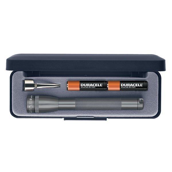 Mini Maglite AAA LED lahjapakkauksessa harmaa