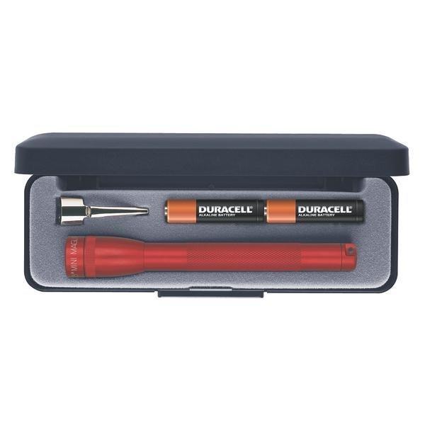 Mini Maglite AAA LED lahjapakkauksessa punainen
