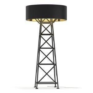 Moooi Construction Lamp Pöytävalaisin L Mattamusta