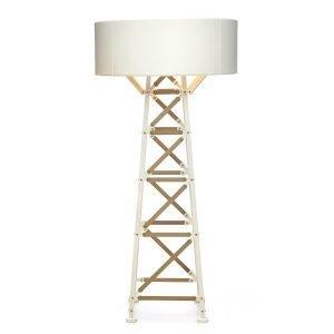 Moooi Construction Lamp Pöytävalaisin L Valkoinen / Puu