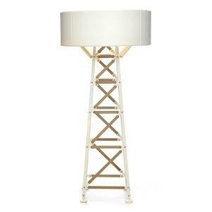 Moooi Construction Lamp Pöytävalaisin M Valkoinen / Puu