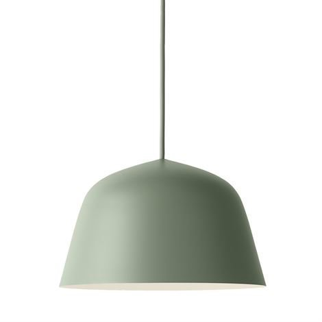 Muuto Ambit Kattovalaisin Ø 25 cm Dusty Green Grön