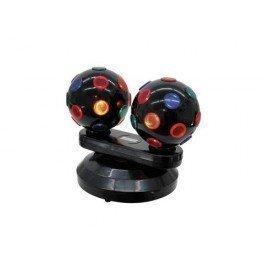 Näyttävä kahden discopallon setti