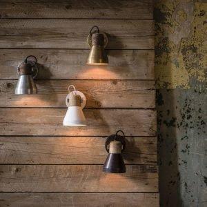 Nordlux Ashby Spotlight Seinävalaisin Hopea 20 Cm