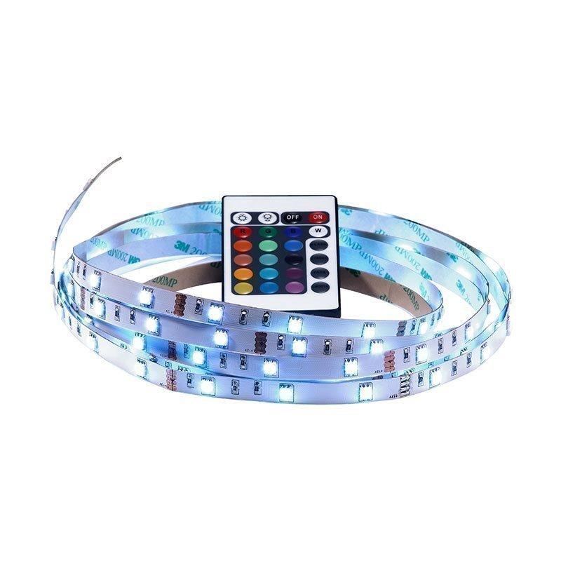 Nordlux LED strip LED-nauha kaukosäätimellä 4m Valkoinen