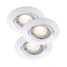 Nordlux Triton LED COB Dim Upotettava valaisin Valkoinen 3x35W GU10 IP23
