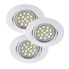 Nordlux Triton LED SMD Alasvalo Valkoinen 3X35W GU10 IP23