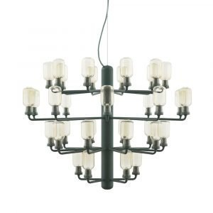 Normann Copenhagen Amp Chandelier Large Riippuvalaisin Gold / Green