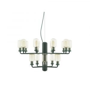 Normann Copenhagen Amp Chandelier Small Riippuvalaisin Gold / Green