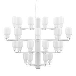 Normann Copenhagen Amp Kattokruunu L Valkoinen / Valkoinen