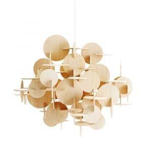 Normann Copenhagen Bau Lamppu Stor Luonnonväri