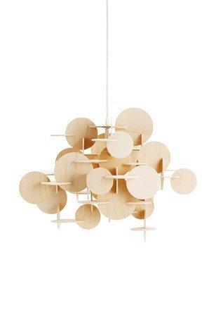 Normann Copenhagen Bau Lamppu luonnollinen S
