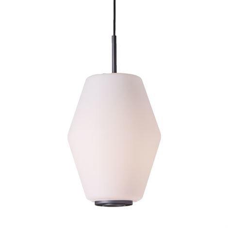 Northern Lighting Dahl Kattovalaisin Tummanharmaa-Opaalilasi