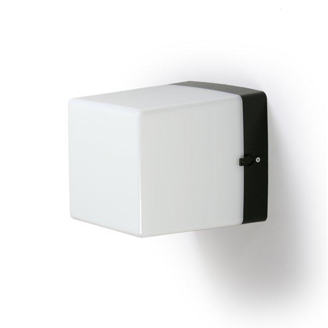 Numerovalaisin AVR7.1 75W E27 210x210x250 mm musta/opaali