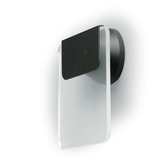 Opastevalaisin AVR51.11L LED 1W 240x220x73 mm musta/kirkas