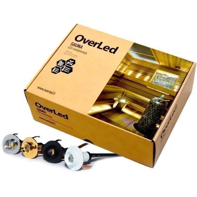 OverLED Saunavalaistussarja LED Kulta