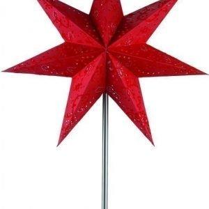 Pöytätähti Aratorp 64 cm paperi punainen