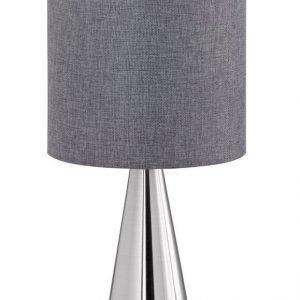 Pöytävalaisin Cosinus Ø 200x350 mm pieni harmaa/harjattu teräs