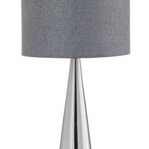 Pöytävalaisin Cosinus Ø 300x550 mm harmaa/harjattu teräs