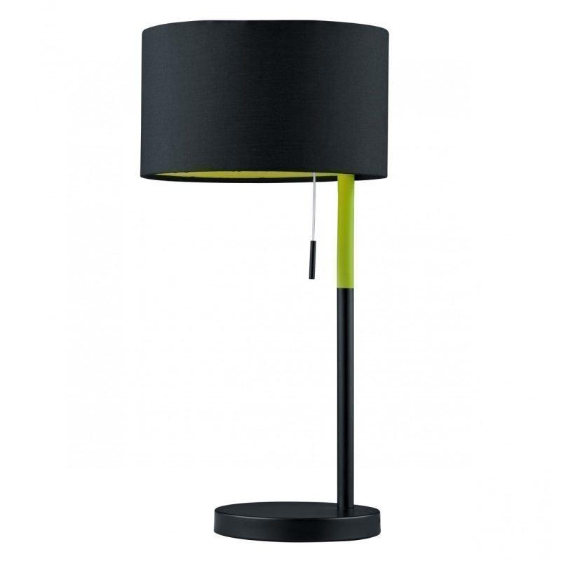 Pöytävalaisin Landor Ø 220x450 mm musta/vihreä