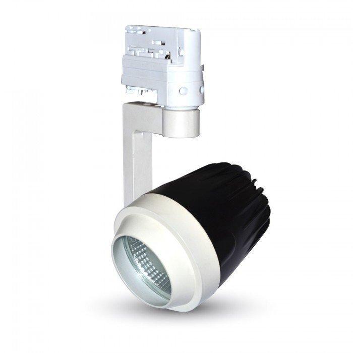 PAR20 Kaluste 3-Vaihe LED Kiskovalo Järjestelmälle Valkoinen