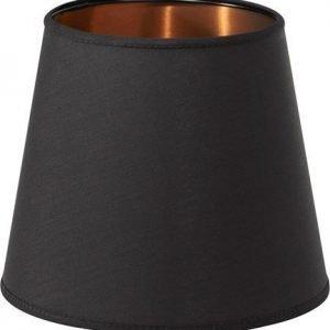 PR Home Mia L Lampunvarjostin Musta/kupari 17 cm