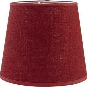 PR Home Mia L Lampunvarjostin Pellava Punainen 20 cm