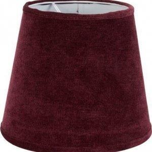 PR Home Mia L Lampunvarjostin Sametti Viininpunainen 20 cm