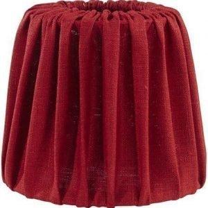 PR Home Mia Lampunvarjostin Pellava Punainen 17 cm