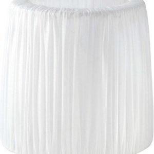 PR Home Mia Lampunvarjostin Puuvilla Valkoinen 24 cm
