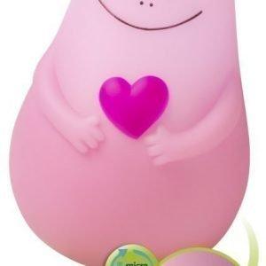 Pabobo Yövalaisin USB-latauksella Lumilove Barbapapa Vaaleanpunainen