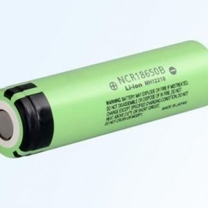 Panasonic NCR18650B Li-ion akku 3400 mAh Ilman suojapiiriä