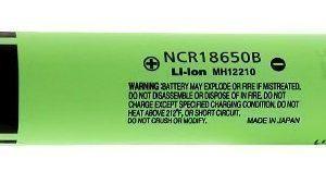 Panasonic NCR18650B Li-ion akku 3400 mAh suojapiirillä