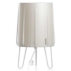 Pappelina Muovilamppu Läpinäkyvä Johto Metallic Valkoinen 33 Cm