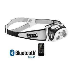 Petzl Reactik+ Reaktiivinen Led Otsalamppu Musta Bluetooth Ja Usb Ladattava
