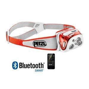 Petzl Reactik+ Reaktiivinen Led Otsalamppu Oranssi Bluetooth Ja Usb Ladattava