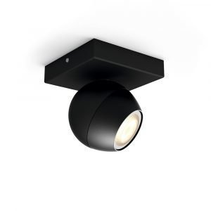 Philips Hue Buckram Kattovalaisin Single Spotti Musta