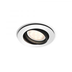 Philips Hue Milliskin Round Kattovalaisin M / Switch Alumiini