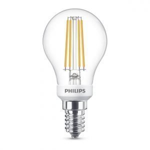 Philips Lamppu Led 5w Lasi Mainoslamppu 470lm Himmennettävissä E14