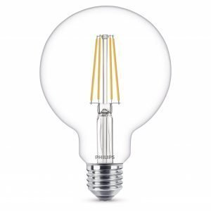 Philips Lamppu Led 7w 806lm Filamentti Globe Ø93 E27