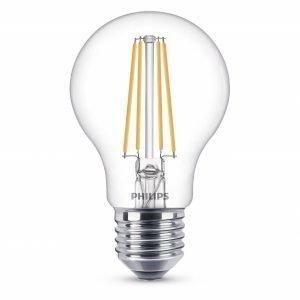 Philips Lamppu Led 8w Lasi 806lm Himmennettävissä E27