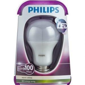 Philips Led Lamppu 100w E27 Lämmin Valkoinen
