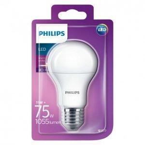 Philips Led Lamppu 11w 75w A60 E27 Ww 230v Fr Nd