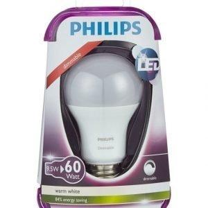 Philips Led Lamppu 60w E27 Lämmin Valkoinen
