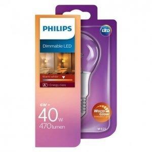 Philips Led Lamppu 6w 40w E27 A60 Warm Glow