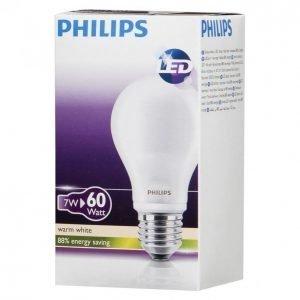 Philips Led Lamppu Classic 7w 60w A60 E27 Ww Fr Nd
